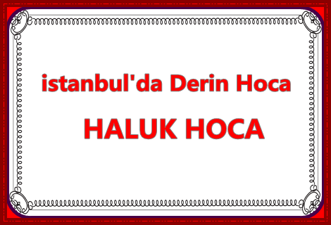 İstanbul'da Derin Hoca