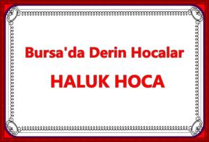 Bursa'da Derin Hocalar